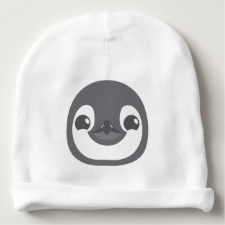 baby penguin face baby beanie