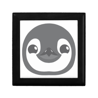 baby penguin face gift box