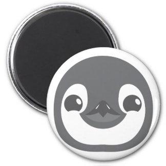 baby penguin face magnet