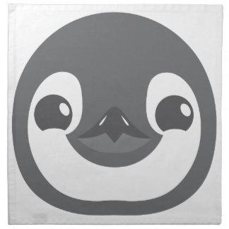 baby penguin face napkin
