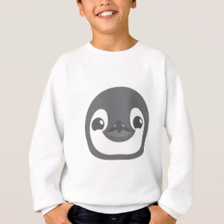 baby penguin face sweatshirt