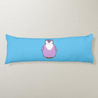 Baby Penguin in Light Purple Body Pillow