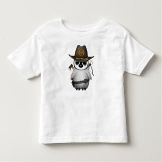 Baby Penguin Zombie Hunter Toddler T-shirt