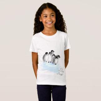Baby Penguins Girls T-shirt