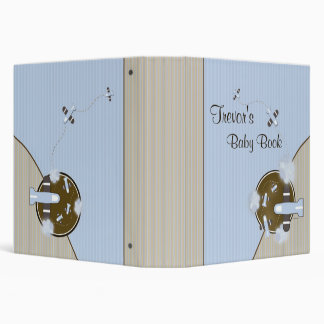 Baby Photo Book with Airplanes 3 Ring Binder