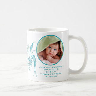 Baby Photo Cute Hummingbird Family Coffee Mug