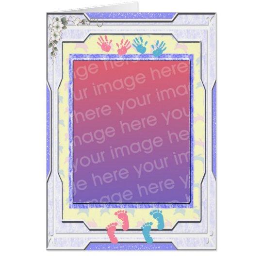 Baby Photo Frame Card