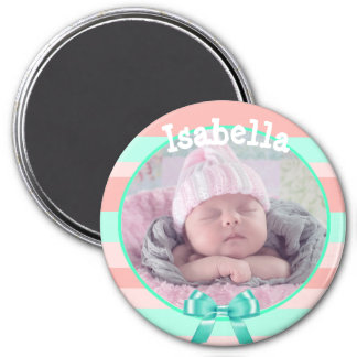 Baby Photo Magnet, Personalized with Your Baby's Magnet