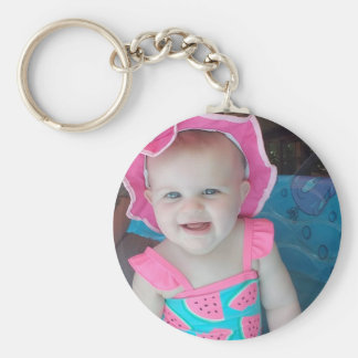 Baby Photo Personalized Key Chain