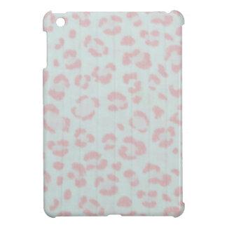 baby pink cheetah animal jungle print iPad mini cover
