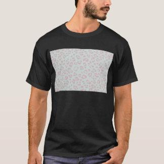 baby pink cheetah animal jungle print T-Shirt