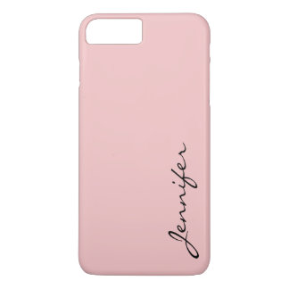 Baby pink color background iPhone 8 plus/7 plus case