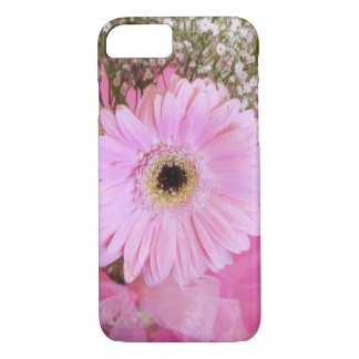 Baby pink daisy floral iPhone 7 case