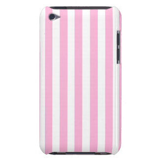 BABY PINK FUN BOLD STRIPES PATTERN iPod Case-Mate CASE