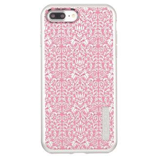 Baby Pink Kawaii Damask Incipio DualPro Shine iPhone 8 Plus/7 Plus Case