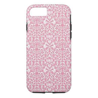 Baby Pink Kawaii Damask iPhone 7 Case