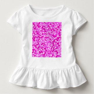 Baby Pink & White Camo Dress