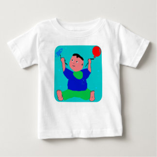 Baby Pino Playing Baby T-Shirt
