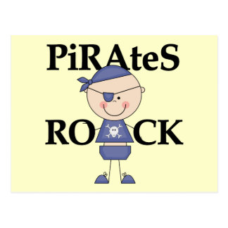 Baby Pirates Rock Tshirts and Gifts Postcard
