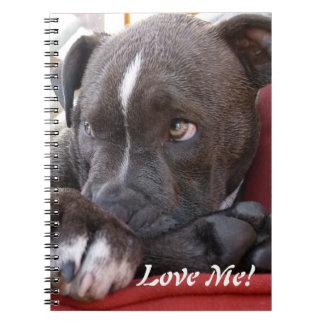 Baby Pitbull Puppies Notebooks