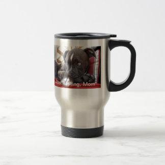 Baby Pitbull Puppy Travel Mug