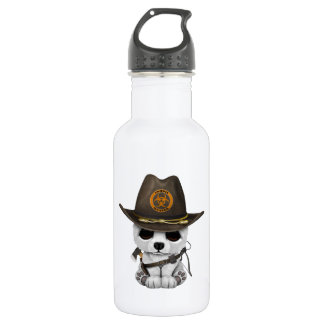 Baby Polar Bear Zombie Hunter 532 Ml Water Bottle