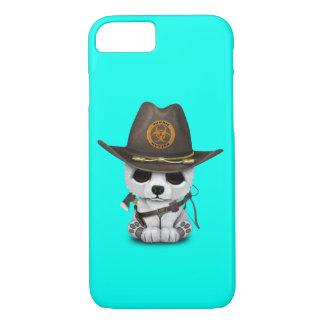 Baby Polar Bear Zombie Hunter iPhone 8/7 Case