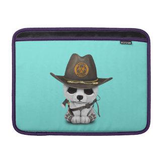 Baby Polar Bear Zombie Hunter Sleeve For MacBook Air
