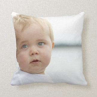 "Baby Polyester Throw Pillow, Throw Pillow 16"" x16"""