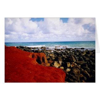 """Baby Pool, Maui"" - blank note card"