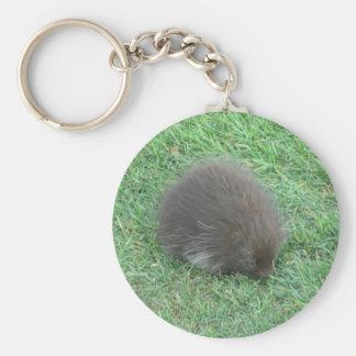 Baby Porcupine Keychain
