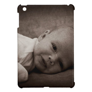 Baby portrait iPad mini covers