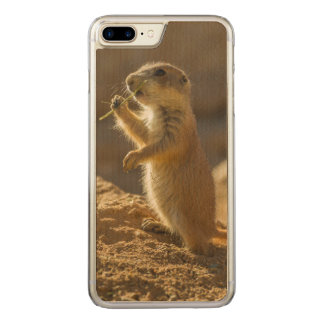 Baby prairie dog eating, Arizona Carved iPhone 7 Plus Case
