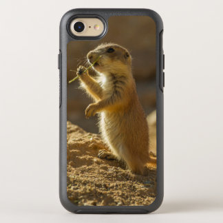 Baby prairie dog eating, Arizona OtterBox Symmetry iPhone 7 Case