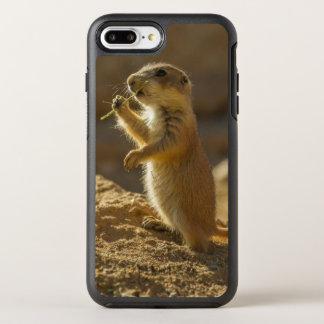 Baby prairie dog eating, Arizona OtterBox Symmetry iPhone 7 Plus Case