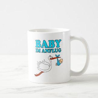 Baby pregnancy birth babies stork coffee mug