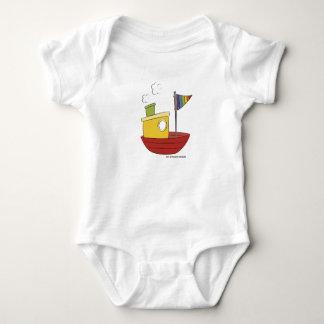 Baby Pride | Boat | Rainbow colours Baby Bodysuit