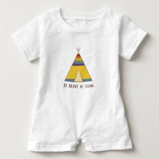 Baby Pride | Teepee | Rainbow colours Baby Romper