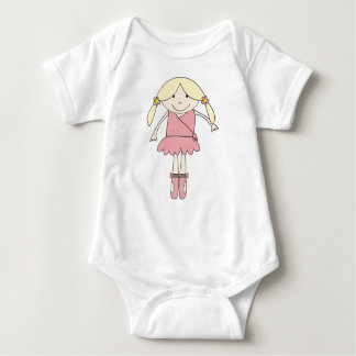 Baby Prima Ballerina Baby Bodysuit