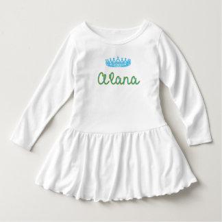 Baby Princess A'lana Toddler Ruffle Dress
