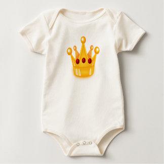 Baby princess baby bodysuit