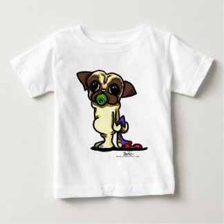 baby PUG {fawn} Baby T-Shirt