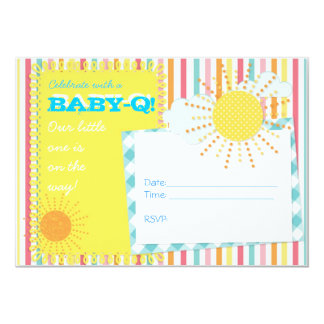 Baby-Q Couples Baby Shower Invitation