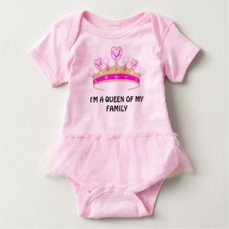 Baby Queen Tutu Baby Bodysuit