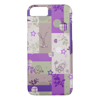 Baby Quilt Pattern iPhone 7 Case