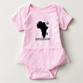 Baby Qweendom Tutu Bodysuit