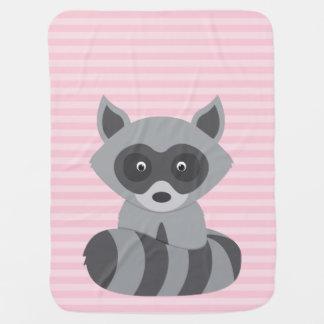 Baby Raccoon Baby Blanket