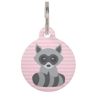Baby Raccoon Pet ID Tag