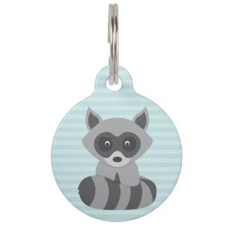 Baby Raccoon Pet Tag