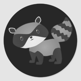Baby Raccoon Stickers